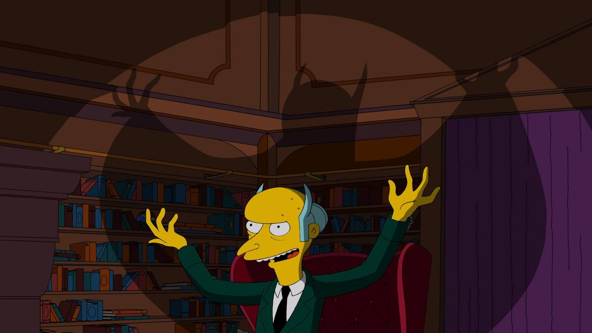 Evil Mr. Burns